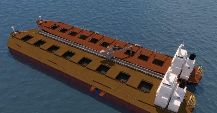 SSD-BC self loading ocean going  vessel
