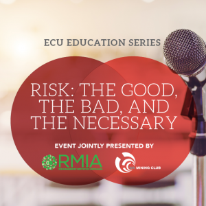 ECU Education Series Breakfast – Risk: The Good, The Bad, and The Necessary