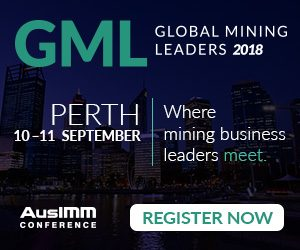 The AusIMM Global Mining Leaders 2018 Conference